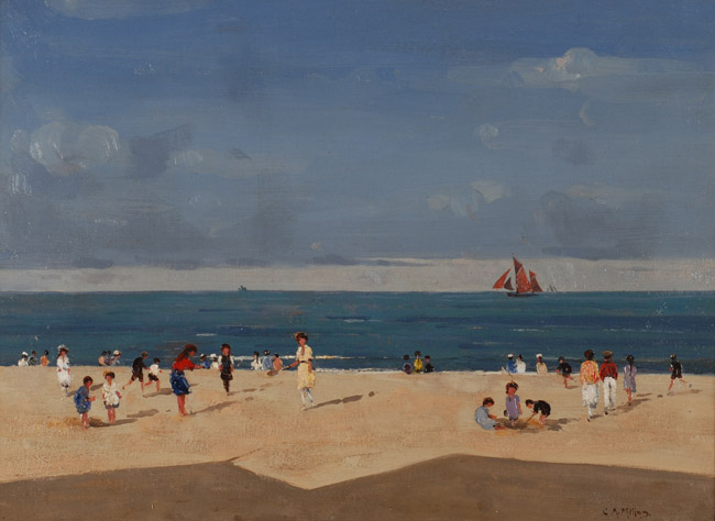 Campbell Mellon - Beach Hut Shadows,